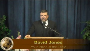 """""""Your Place at the Table"""" by David Jones- Sermon 2020-04-04"""