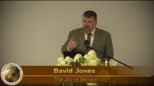"""The Joy of Service"" by David Jones- Sermon 2020-08-15"