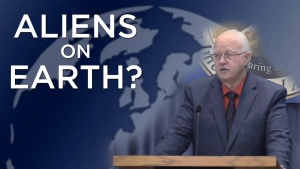 Split-Sermon: Were There or Are There Aliens on Earth?