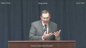 """Doug Wendt """"Clues to Understanding the Bible"""""""