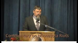 """Riots in Minnesota"" by David Jones - Commentary 2020-05-30"
