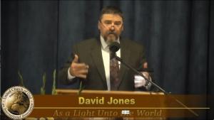 """As A Light Unto the World"" by David Jones- Sermon 2018-12-22"