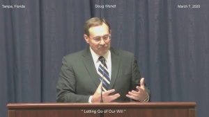 """Doug Wendt """"Letting Go of Our Will"""""""