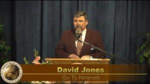 """Go To Nineveh"" by David Jones- Sermon 2020-04-25"