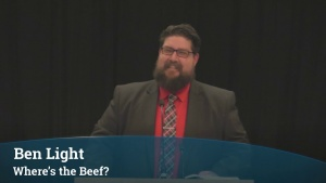 Where's the Beef? - Benjamin Light