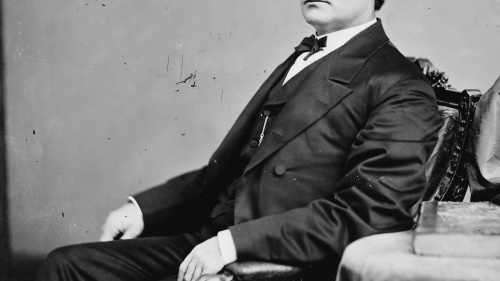 Portrait of Edmund G. Ross