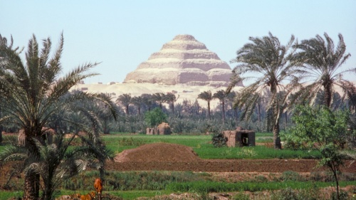 Pyramid in Egypt.