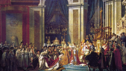 The Coronation of Napoleon.