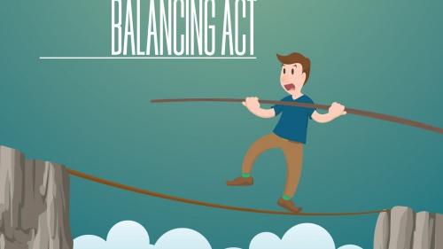 Social Media Balancing Act
