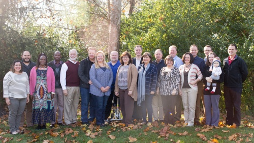 Last year's group at the Pastoral Development Program.