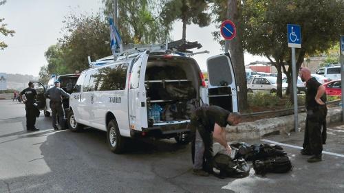 Israeli police.