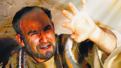 An artist rendition of the Apostle Paul.
