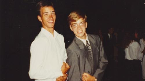Dan at SEP camp in the 80s