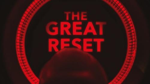 "A finger pushing a ""reset"" button."