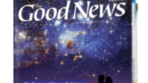 Good News Magazine - May/June 2013 cover