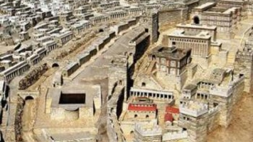 Model of Jerusalem in the Late Second Temple Period - Archaeology and the City o