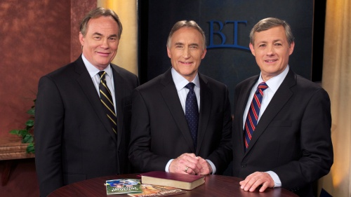 Beyond Today TV hosts: Darris McNeely, Steve Myers and Gary Petty