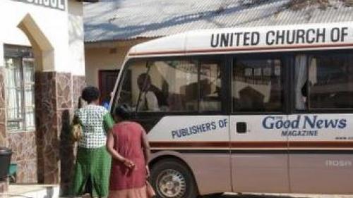 Bus for Zambian brethren