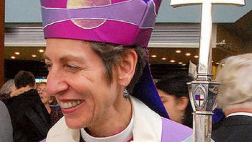 Katharine Jefferts Schori, Presiding Bishop of the Episcopal Church of the US.