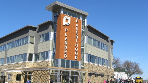 A Planned Parenthood facility in St. Paul, Minnesota.