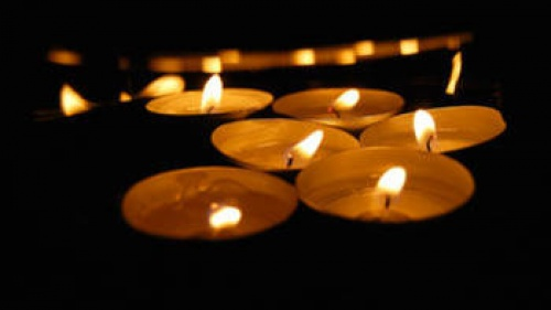 Tea candles - memorial