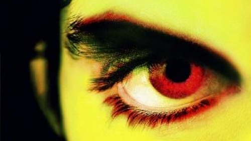Upclose photo of a man's eye.