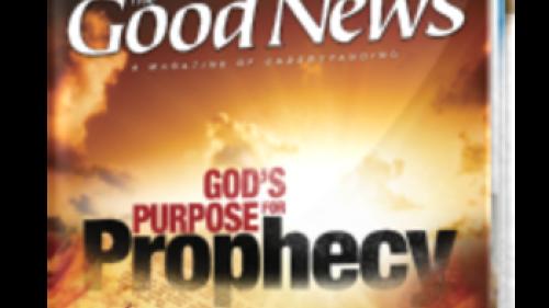 Good News Magazine - September/October 2013 cover