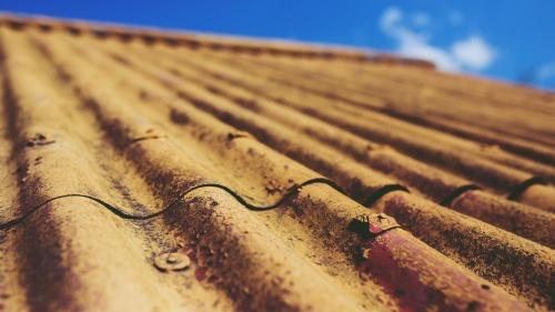 Old metal roof