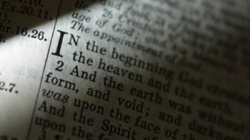 Bible text - Genesis 1:1