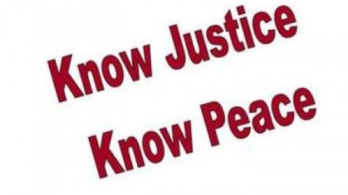 No Justice, No Peace or Know Justcie, Know Peace