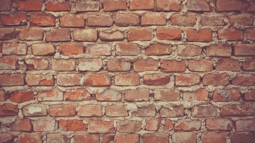When walls have been built between people, they usually come down a brick at a time. This is why it takes time to make peace.