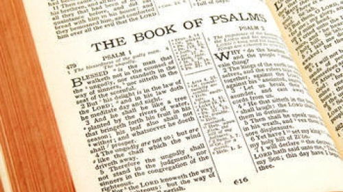 Point of Wisdom: Pray With a Psalm in Your Heart