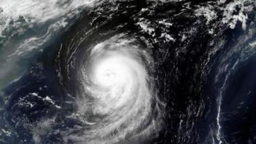 Picture of Hurricane Irene