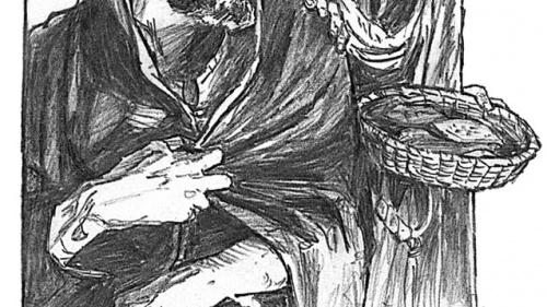 Illustration of Peter denying Christ.
