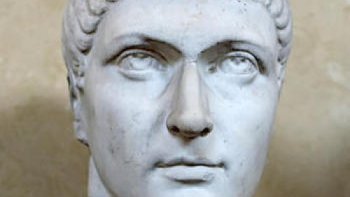 Bust of Constantine in the Vatican Museum.