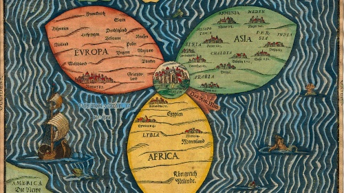 Map by Heinrich Bünting