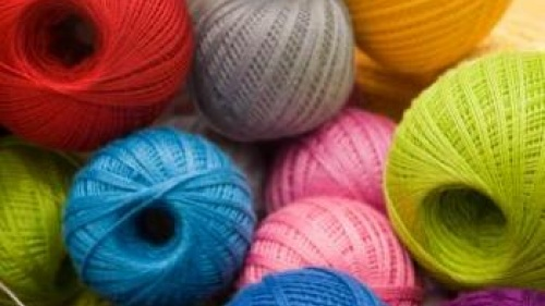 bright colored yarn - The Christian Woman: An Act of Kindness