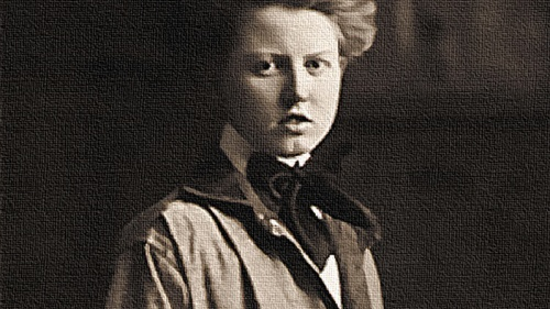 Anna Keichline, one of the first female architects