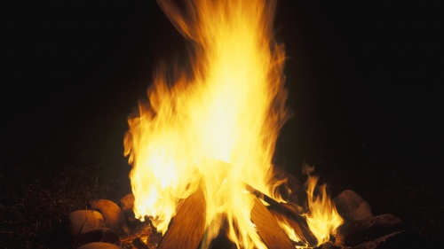 God's Spirit is a very potent power, much like fire.