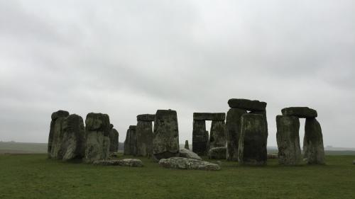 Stonehenge monument near Wiltshire, England.