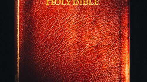 A picture of the Bible