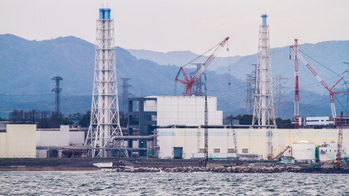They Were Not Afraid To DieThe damaged Fukushima Daiichi Nuclear Power Station as seen during a sea-water sampling boat journey.