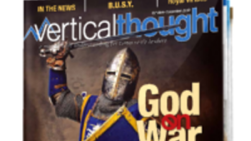 Vertical Thought magazine cover