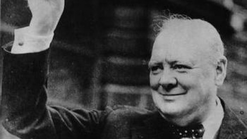 Winston Churchill raising hat - What Is True Leadership?