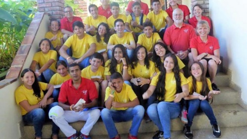 Volunteers for Colombia Summer Camp