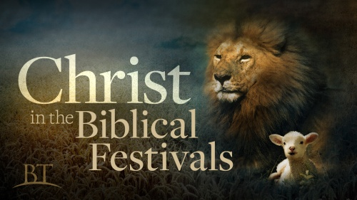 Christ in the Biblical Festivals