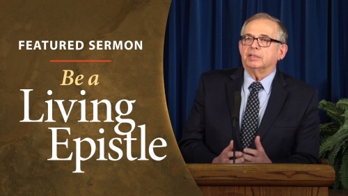 Sermon - Be a Living Epistle