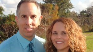 Philip and Sarah Aust