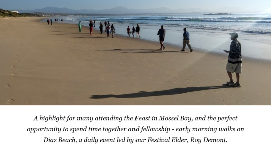 2020 Feast of Tabernacles in Mossel Bay, South Africa