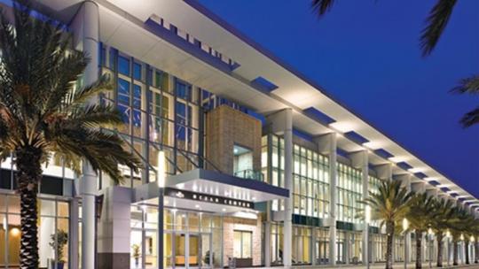 Photo of the Ocean Center at Daytona Beach, Florida.